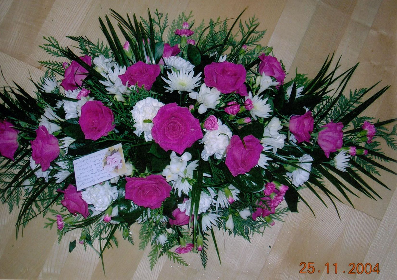 Funeral flowers and arrangements essex and suffolk from bizzie lizzie wreaths and posies izmirmasajfo