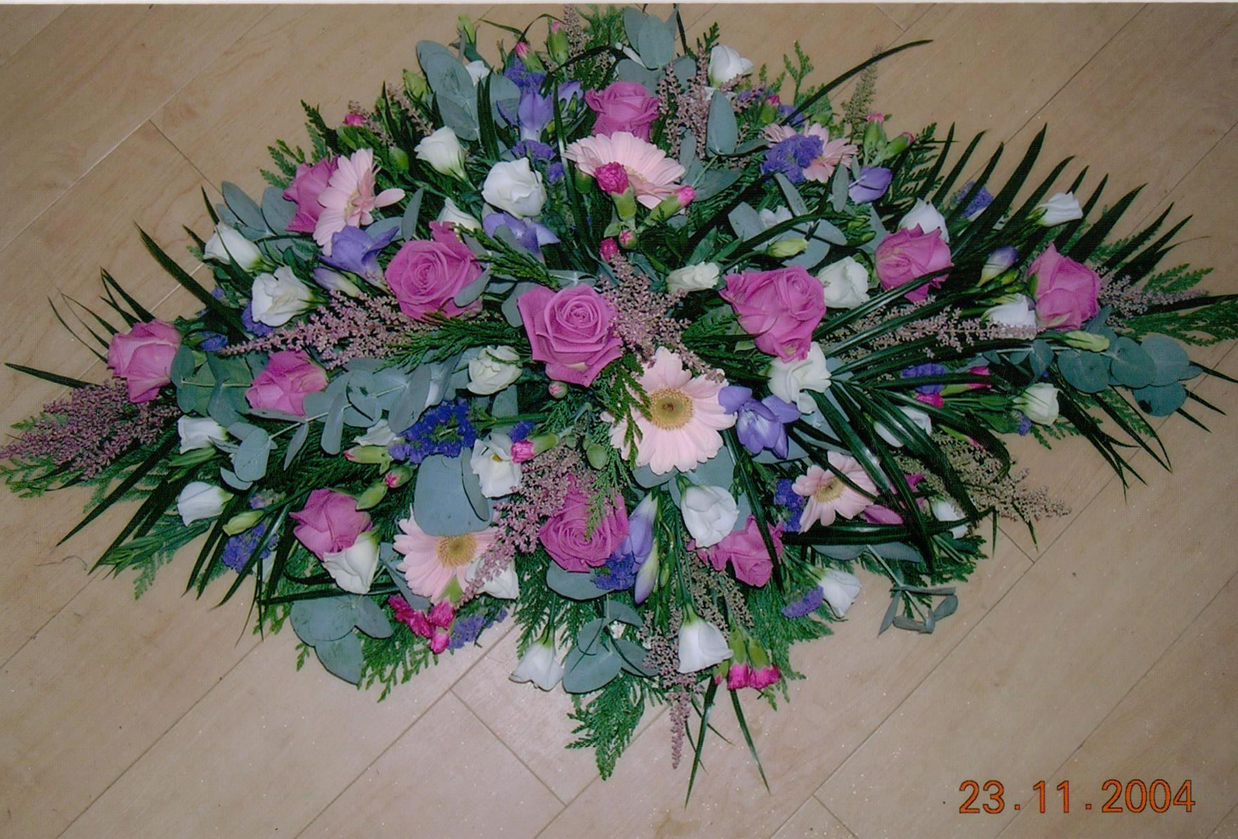 Funeral Flowers And Arrangements Essex And Suffolk From Bizzie Lizzie